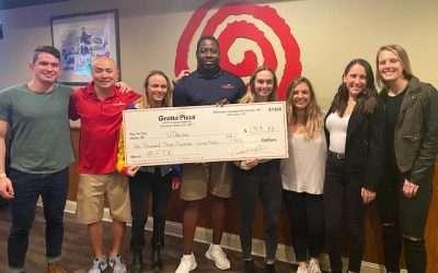 Grotto Pizza Donates to UDance through Community Pizza Night program