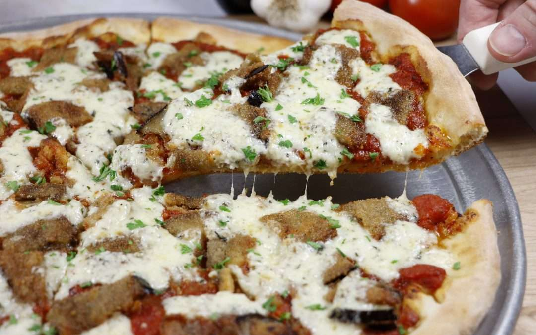 Grotto Pizza Introduces Eggplant Parmesan Pizza for February!